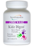 Kidz Digest Chewable 180 tablets